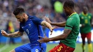 Olivier Giroud Adolphe Teikeu France Cameroon Friendly 30052016