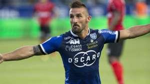 Julian Palmieri Bastia Guingamp Ligue 1 22082015