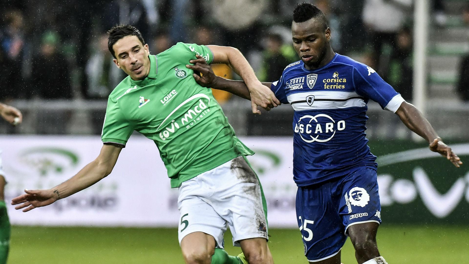 Lassana Coulibaly Vincent Pajot Saint-Etienne Bastia Ligue 1 18092016