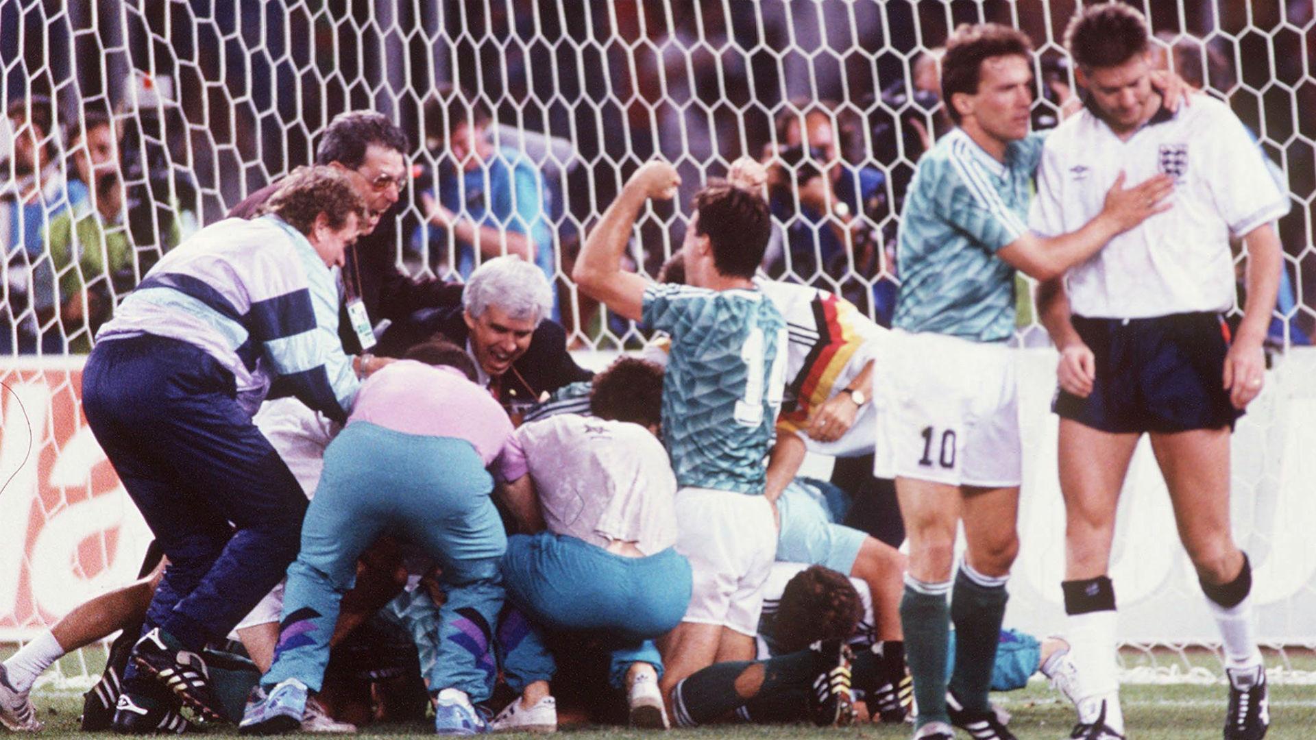 Germany vs England World Cup 1990