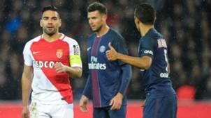 Falcao PSG Monaco Ligue 1