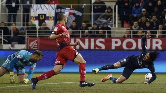 Edinson Cavani Dijon PSG