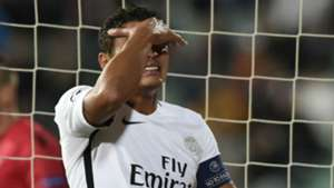 Thiago Silva Ludogorets PSG Champions League 28092016