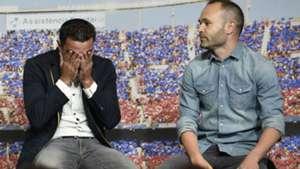 Xavi Iniesta FC Barcelona
