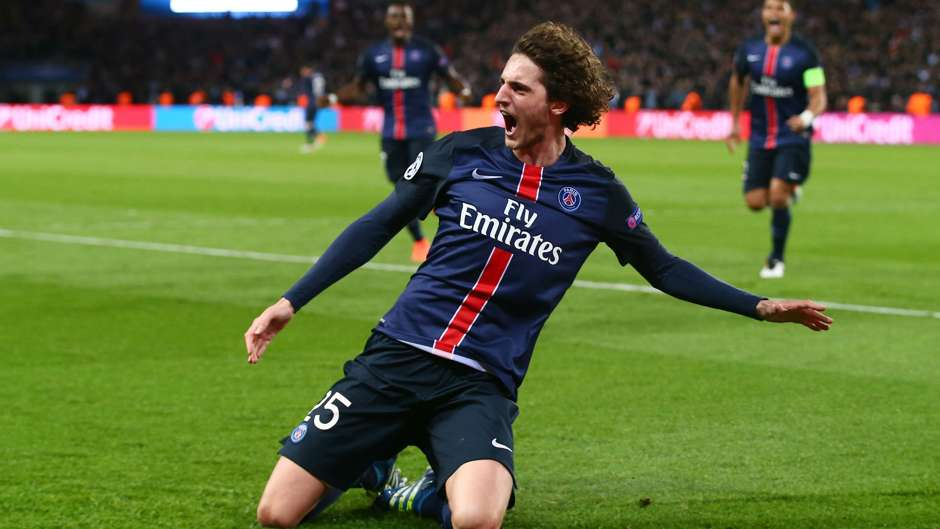 Adrien Rabiot Paris SG Manchester City UEFA Champions League 06042016