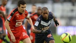 Diego Rolan Romain Danze Bordeaux Rennes Ligue 1 31012016