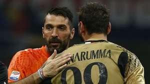 Buffon Donnarumma