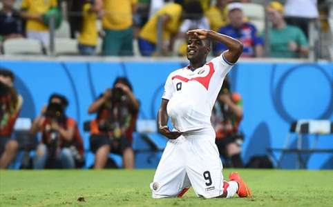 Joel Campbell Costa Rica Uruguay World Cup Group D 14062014