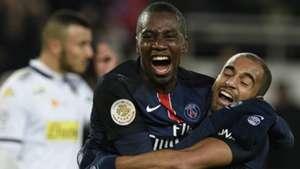 Lucas Moura Blaise Matuidi PSG Angers Ligue 1 23012016