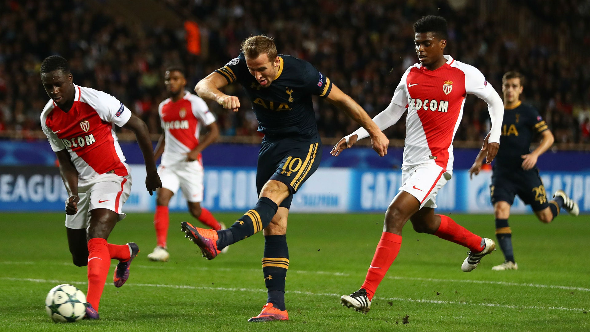 Harry Kane Monaco Tottenham Champions League 22112016