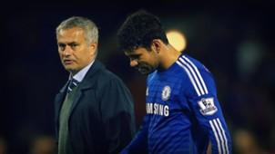 José Mourinho - Diego Costa - Chelsea