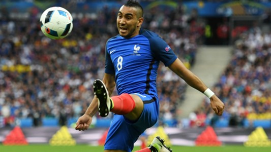 Dimitri Payet France Romania UEFA Euro 2016 10062016