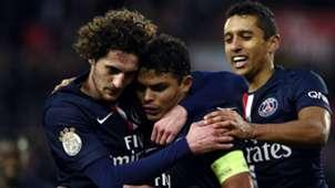 Adrien Rabiot Thiago Silva Paris SG Toulouse Ligue 1 21022015