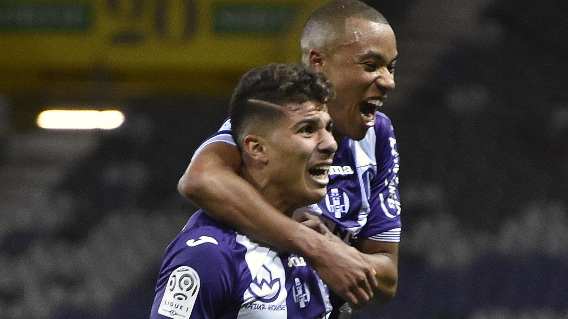 Zinedine Machach Toulouse Montpellier Ligue 1 31102015