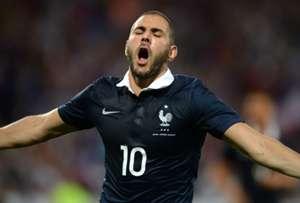 Karim Benzema France Jamaica Friendly 06082014