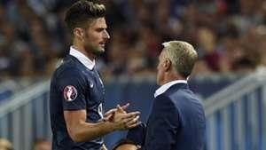France Serbia 07092015 Giroud Deschamps