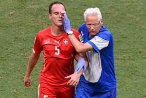 Steve von Bergen Switzerland France FIFA World Cup 2014 06202014
