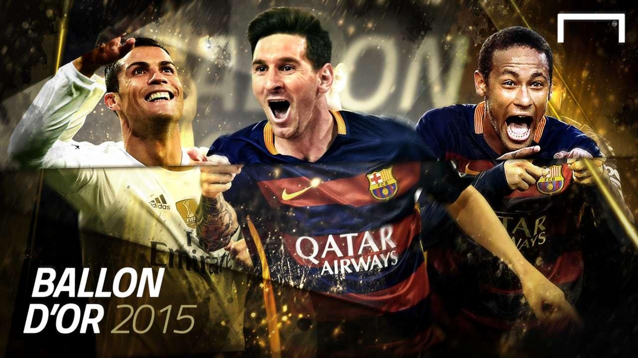 Cover Gallery Ballon d'Or Messi Neymar Ronaldo