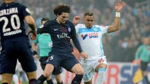 Adrien Rabiot Dimitri Payet Marseille PSG Ligue 1 26022017
