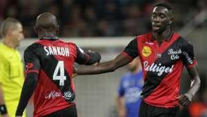 Sambou Yatabare Guingamp Bastia Ligue 1 01112014