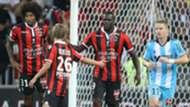 Mario Balotelli Vincent Koziello Nice Marseille Ligue 1 11092016