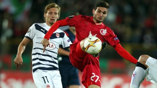 Clement Chantome Magomed Ozdoev Rubin Kazan Bordeaux UEFA Europa League 01102015