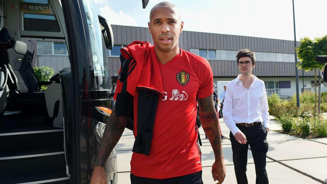 Thierry Henry Belgium training 29082016