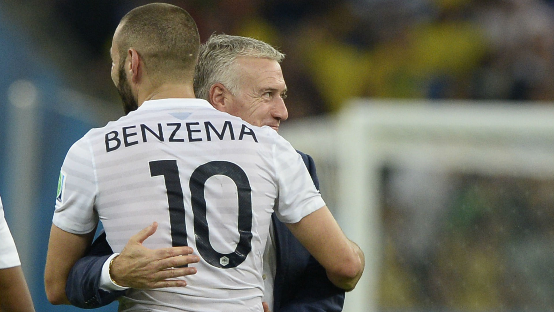 Karim Benzema Didier Deschamps France