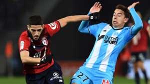 Maxime Lopez Yacine Benzia Lille Marseille Ligue 1 17032017