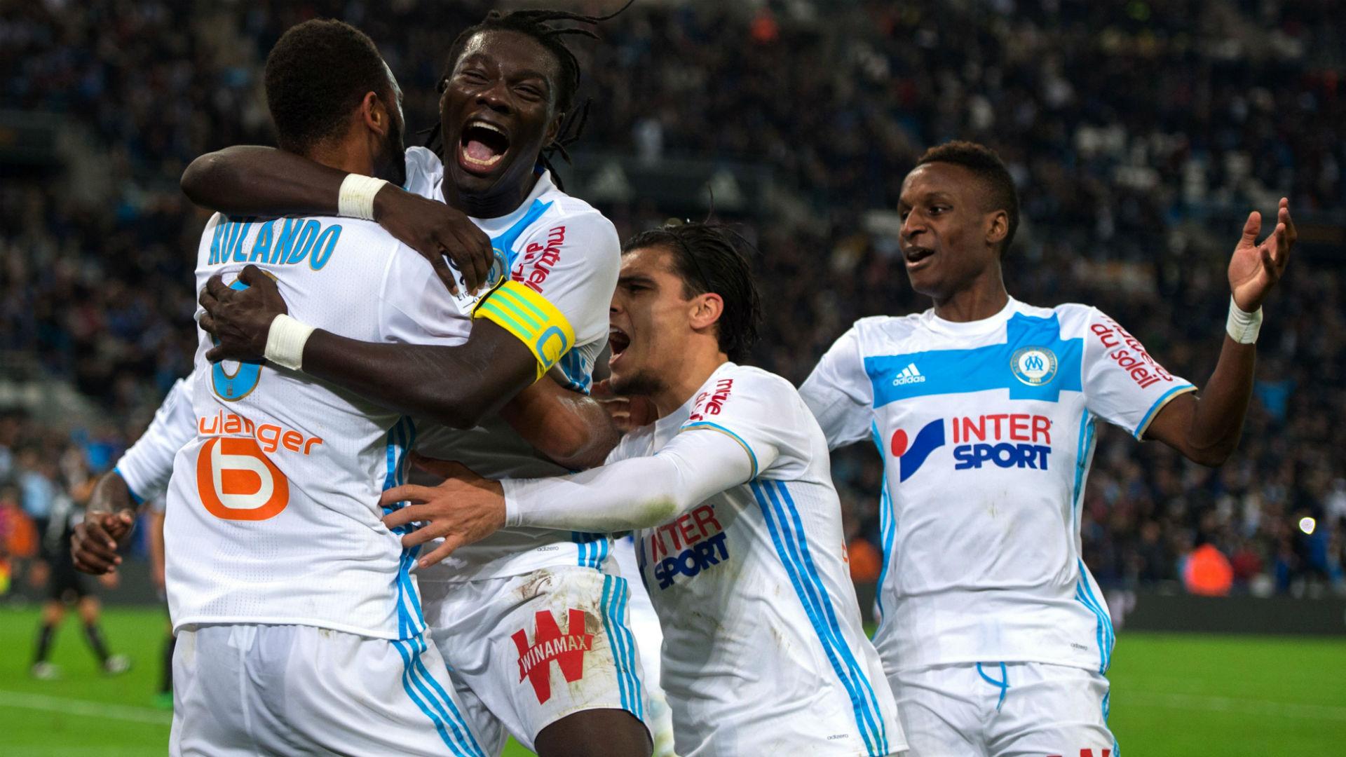 Bafetimbi Gomis Rolando Marseille Caen Ligue 1 20112016