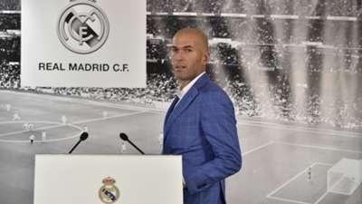 Zidane Perez Real Madrid