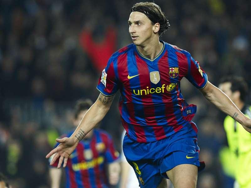 Antes de sair do Barça, Ibrahimovic pediu para jogar no Real de José Mourinho