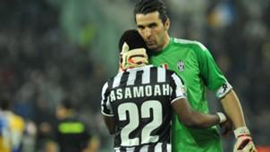 Kwadwo Asamoah & Gianluigi Buffon, Juventus