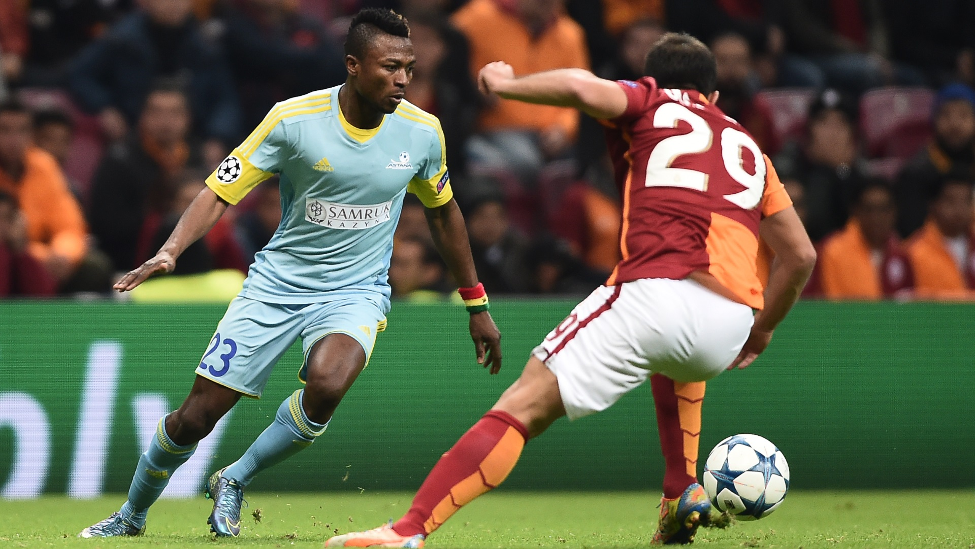 UEFA play-offs: Patrick Twumasi hits brace but Astana eliminated by prolific Celtic