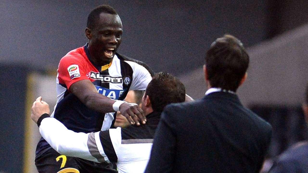 Emmanuel Agyemang-Badu of Udinese