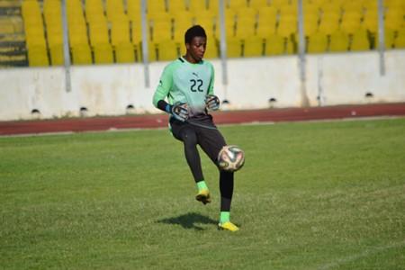 Chan 2016 Ghana shot stopper Felix Annan