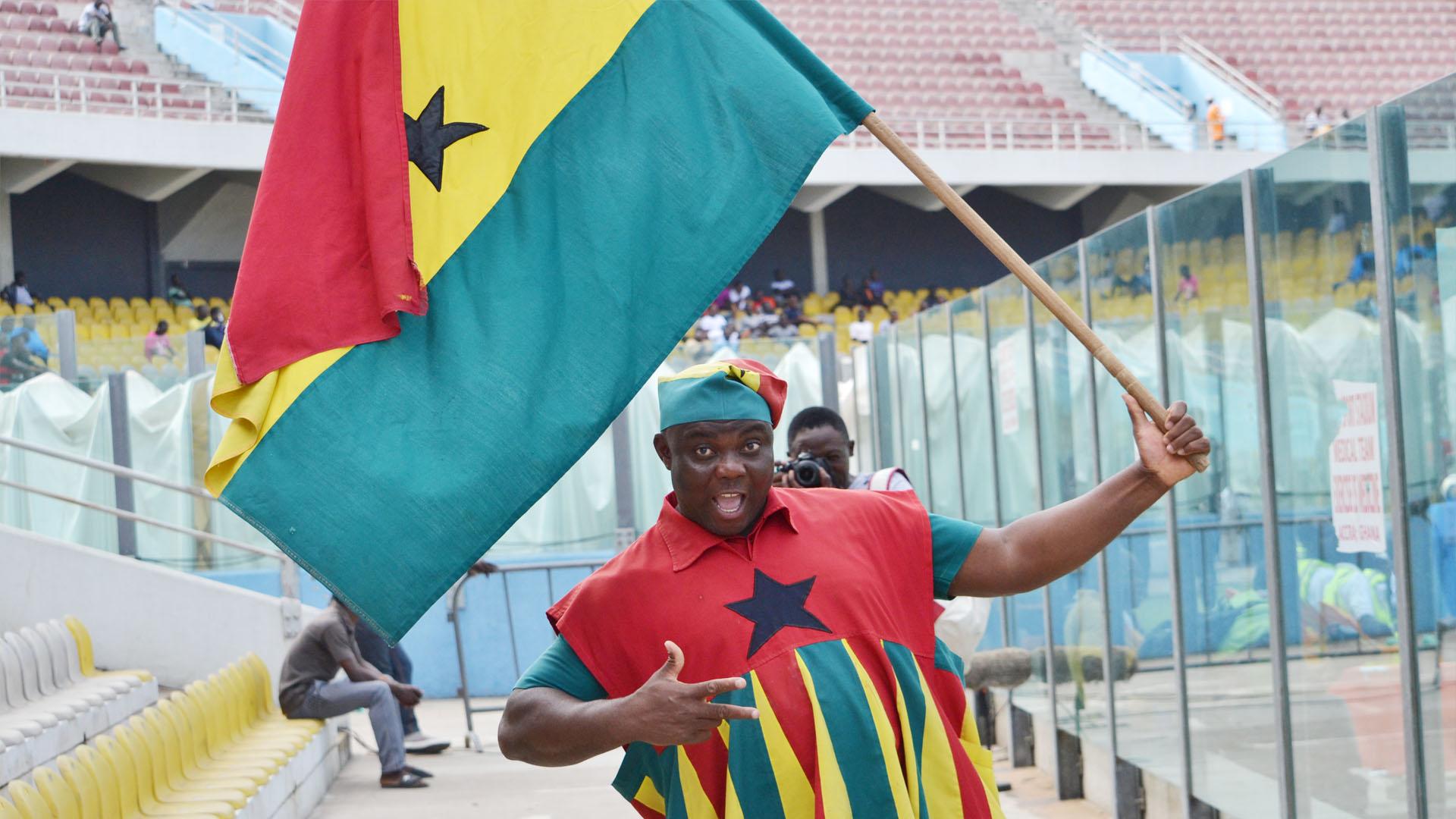Ghana fan