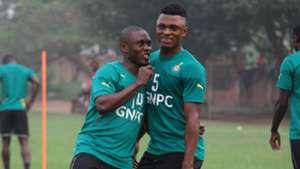 Rashid Sumaila & Waris Majeed of Ghana