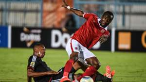 John Antwi of Ahly, Happy Jele of Orlando Pirates