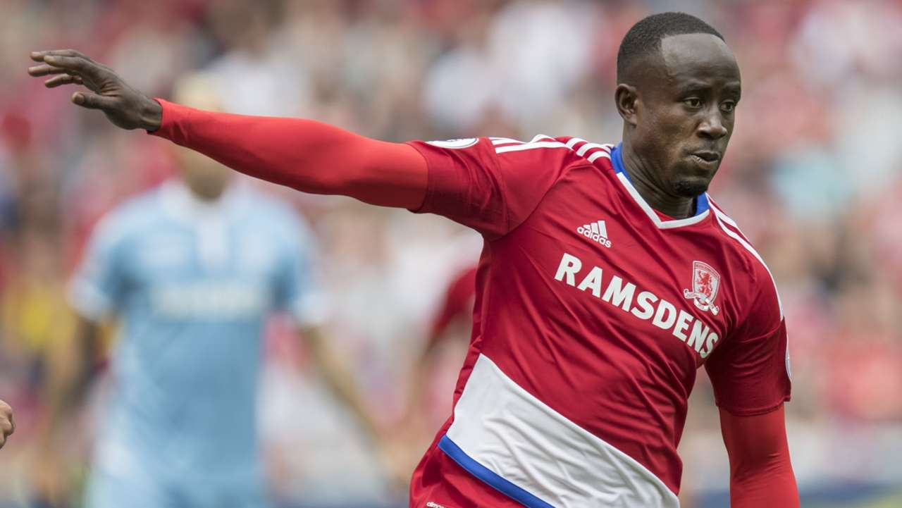 Albert Adomah of Middlesbrough
