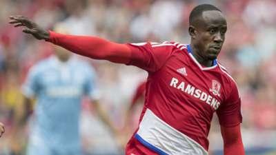 Albert Adomah of Middlesbrough