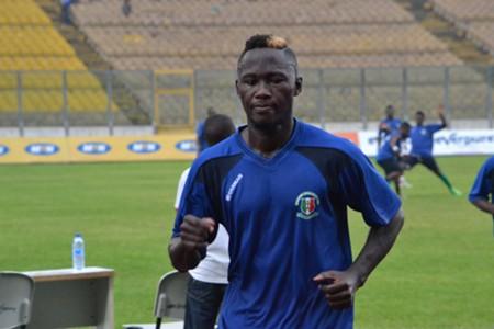 Hasaacas striker Eric Bekoe