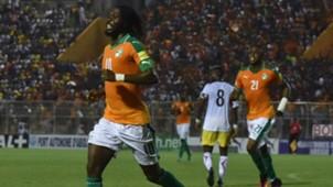 Gervinho of Cote d'Ivoire