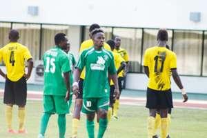 Hasaacas striker Samuel Afful