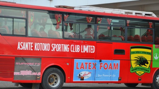 Asante Kotoko team bus