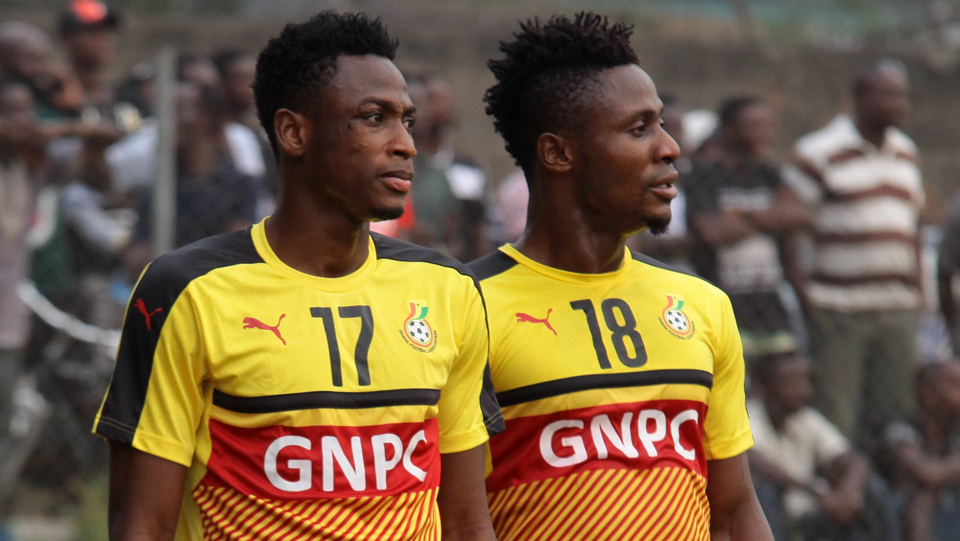Abdul Rahman Baba & Nuru Sulley of Ghana