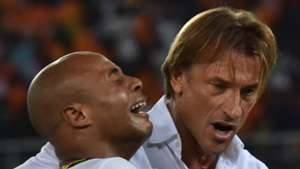Herve Renard and Andre Ayew