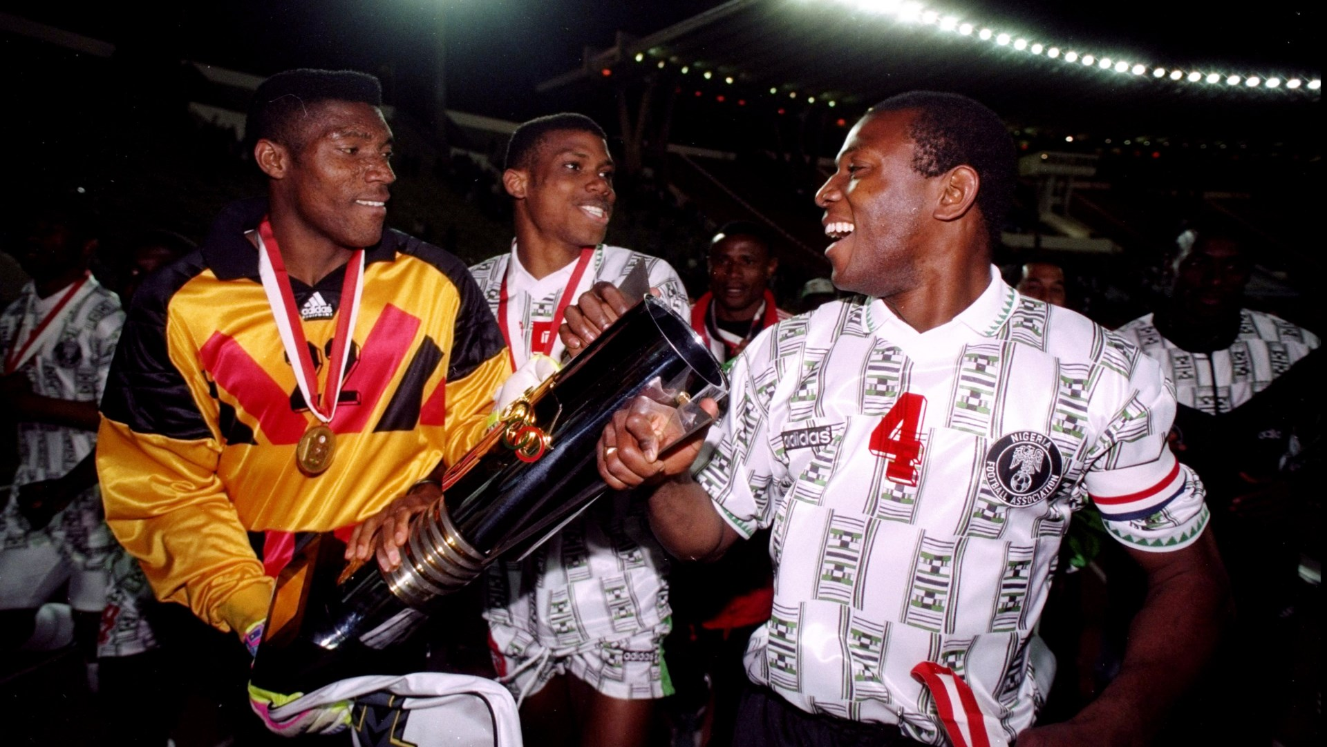 Peter Rufai, Augustine Eguavoen and Stephen Keshi