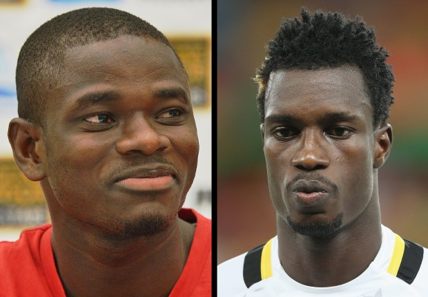 Jonathan Mensah and John Boye