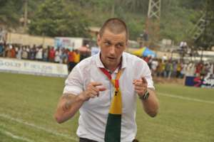 Medeama coach Tom Strand